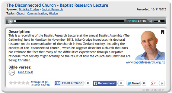 Mike-Crudge-Baptist-Research-Lecture-The-Disconnected-Church-570
